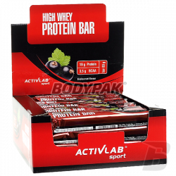 Activlab High Whey Active Protein Bar - 24x 80g