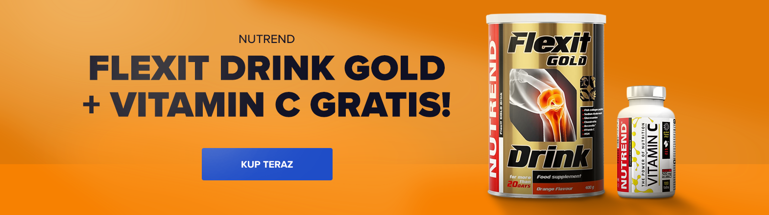 Nutrend Flexit Drink GOLD + Vitamin C [GRATIS]