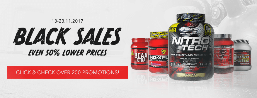 Check great discounts for +200 top supps!
