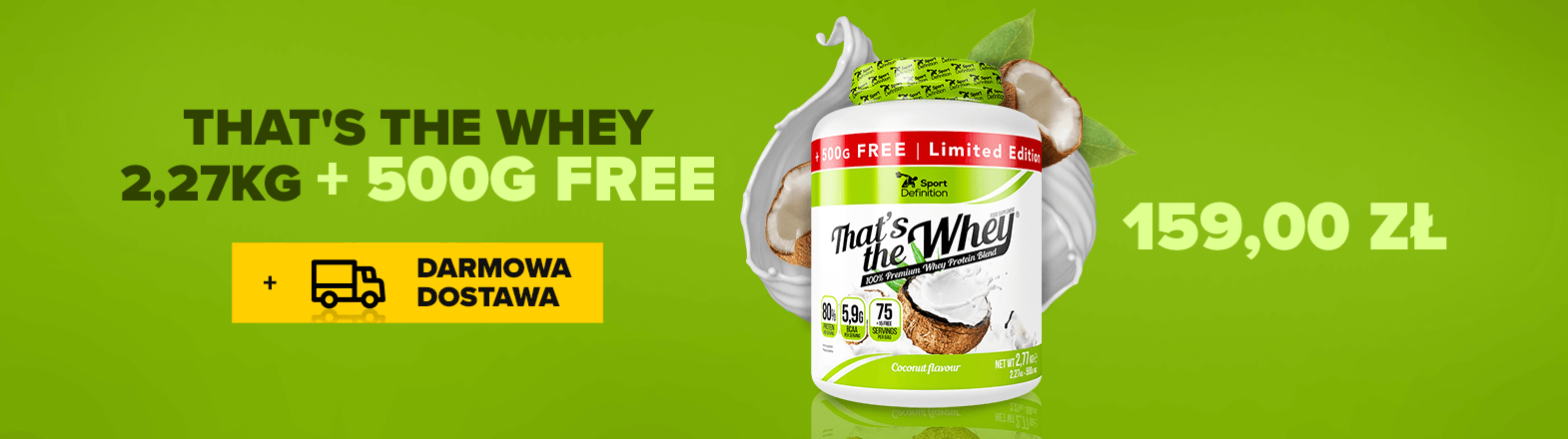 SPORT DEFINITION THAT IS THE WHEY 2.27 KG + 500G FREE