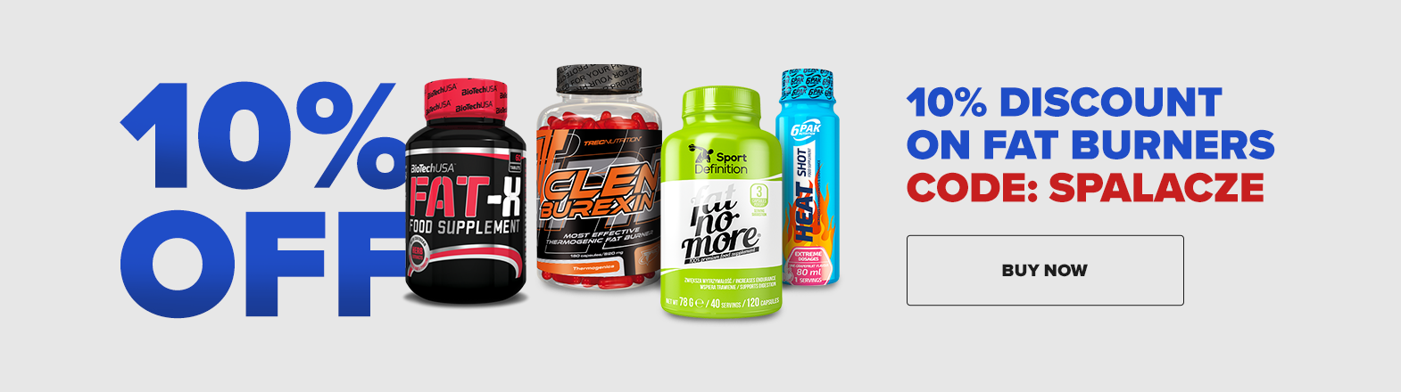 10% discount on fat burners