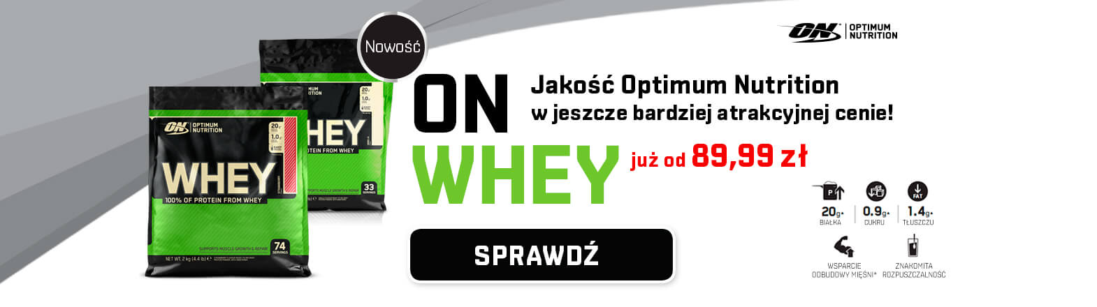 Optimum Nutrition Whey [Green Line]